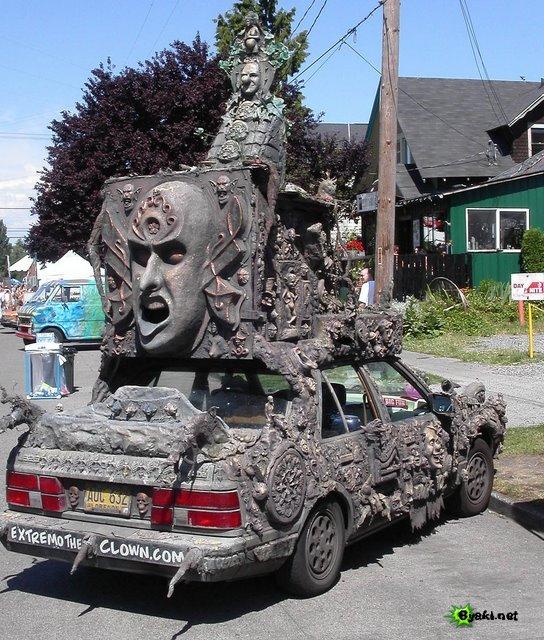 необычные авто